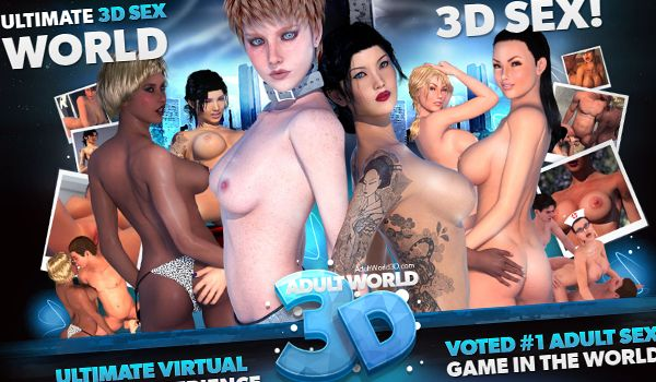 Adult fuck world 3d with animated girls playing porn