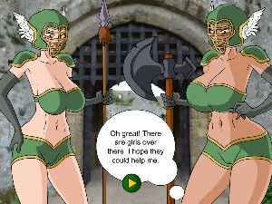 Fuck busty chick in a free fuck game