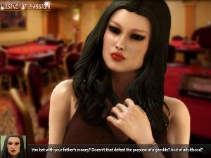 Flash sex game with sexy casino players