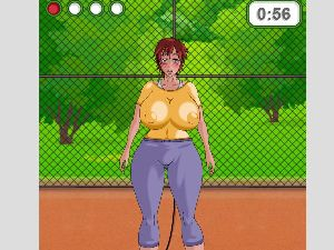 Busty girls in bouncing boob games