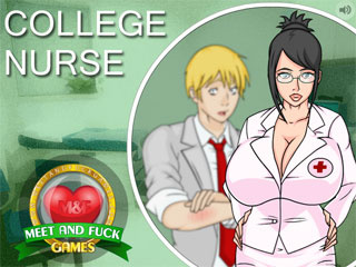 Flash fuck game with college nurse fucking