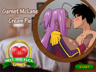 Huge creampie pussy cumshot in a free adult flash game