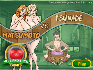 Anal sex with a busty slut Tsunade