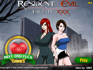 Resident Evil porn version with crazy zombie sex