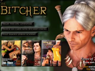 Horny Witcher fucks epic girls in parody sex game